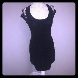 Black Tight Bebe Dress